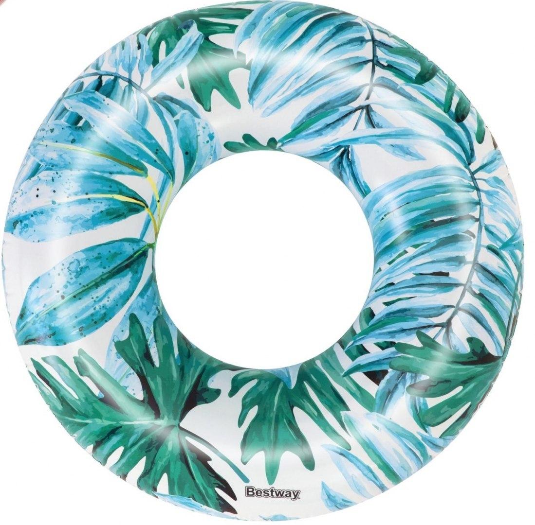 Bestway 36237 Nafukovací kruh palmy 119 cm modré