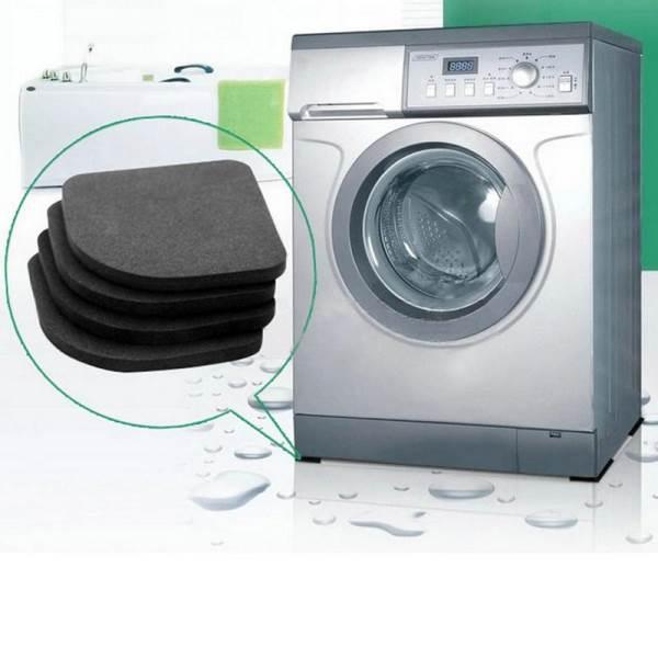 KIK Antivibračné podložky pod práčku 4 KS KX9825