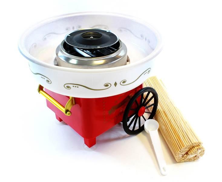 APT AG137D Výrobník cukrovej vaty červená