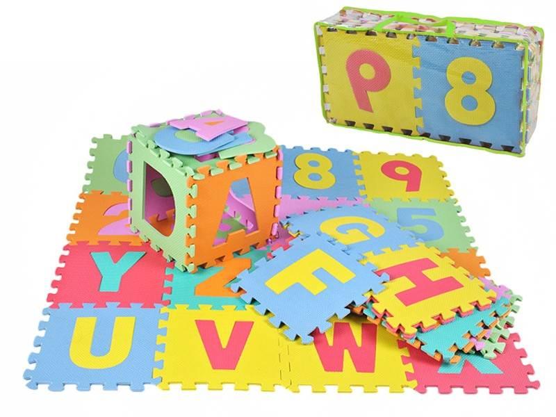 EVA Penové puzzle 30 x 30cm - 36 ks6