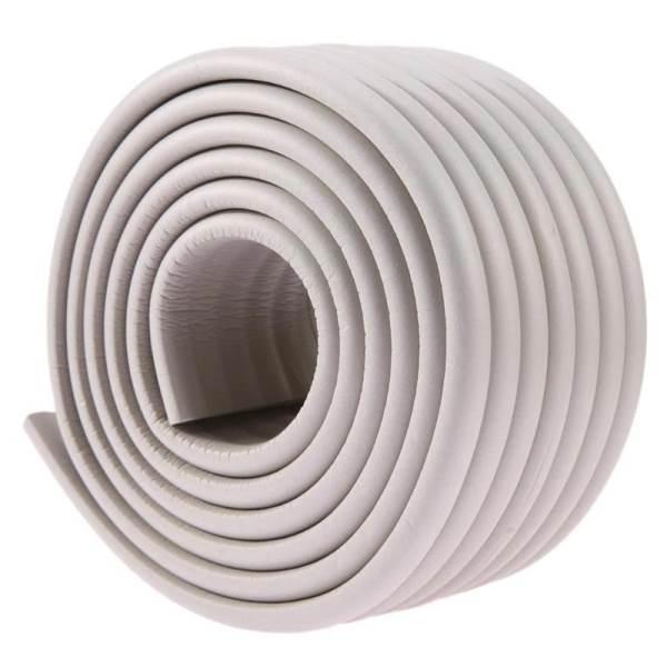 KIK Penová páska na ochranu hrán stola 8 x 1 x 200cm šedá