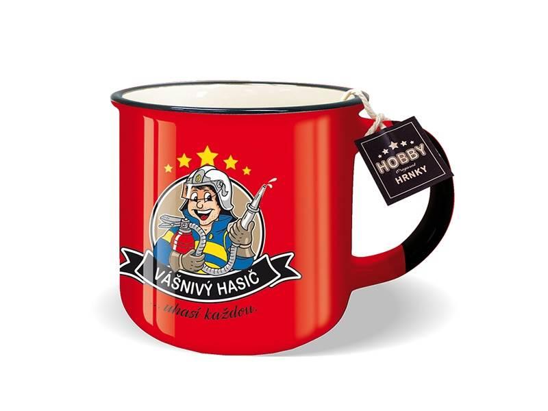 Nekupto Darčekový hrnček HOBBY - Vášnivý hasič