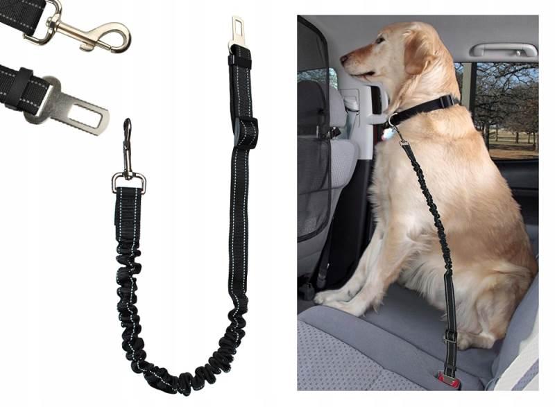 ISO 6230 Elastický pás pre psa do Autá 25mm x 100-130cm