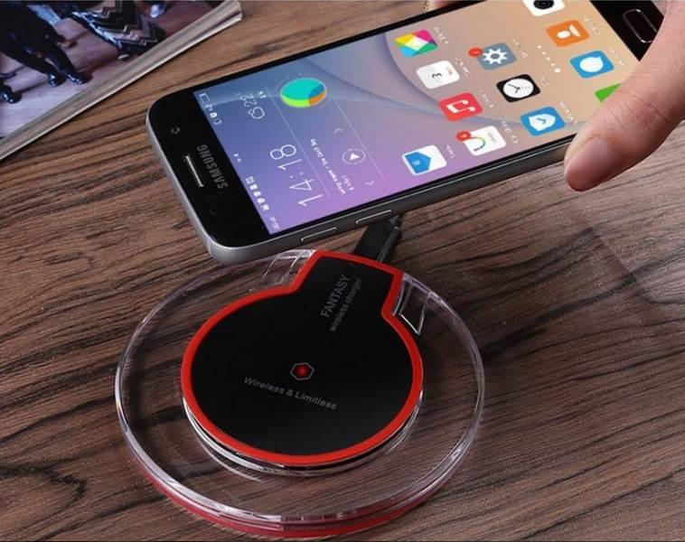 GFT Bezdrátová nabíječka kulatá Wireless Charger neoriginální