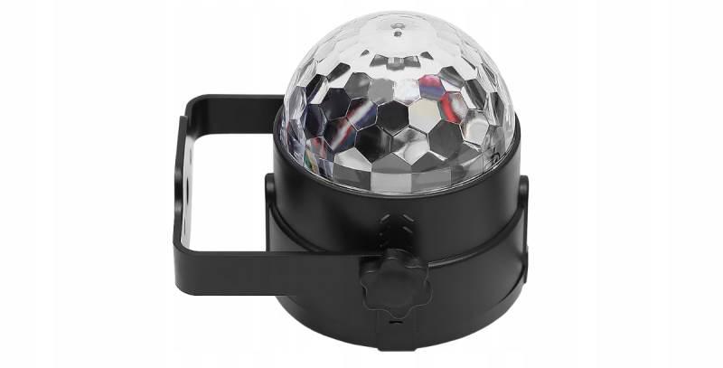 ISO 7056 LED disko gule s diaľkovým ovládaním8