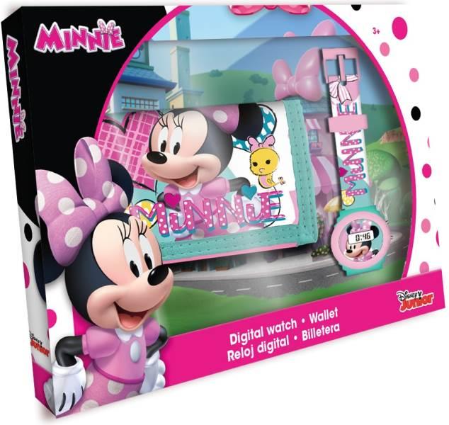 Javoli Darčeková sada Disney Minnie peňaženka s hodinkami