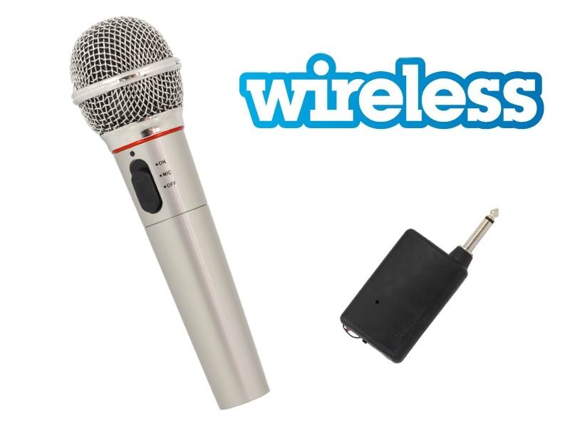 APT Mikrofon dynamický, bezdrátový, 600ohm jack 6,3mm AG100A