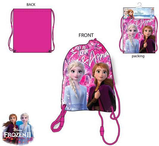 Javoli Detský Vak na chrbát Disney Frozen Anna a Elsa 37,5 x 31,5 cm