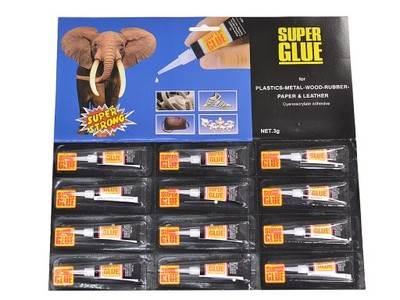 Verk Sekundové lepidlo Super Glue 12 x 3g