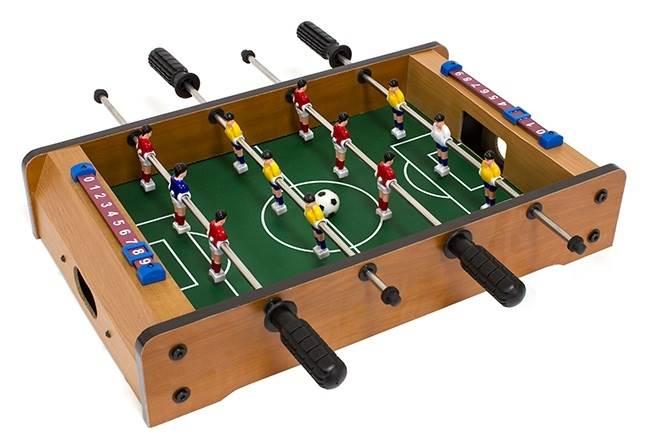 MAX Mini stolný futbal futbalček 51 x 31 x 8 cm svetlý1