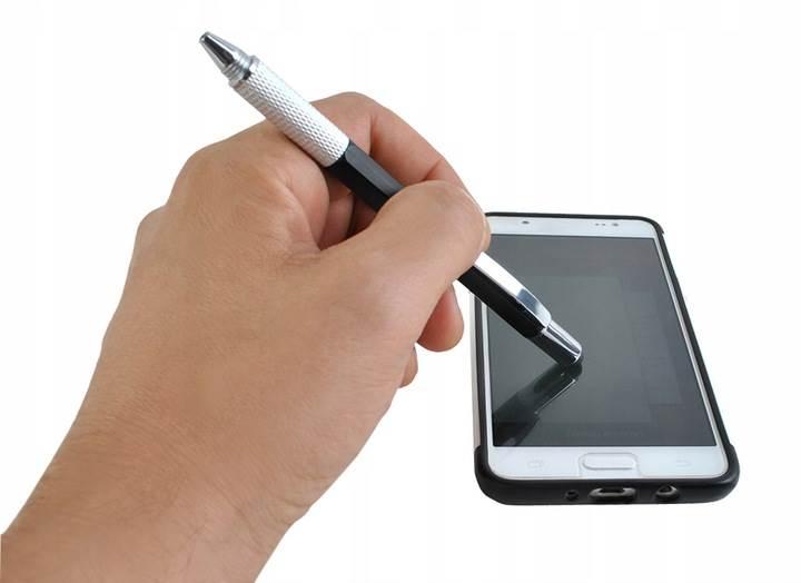 ISO 6337 Viacúčelové pero 6 v 1 čierna5