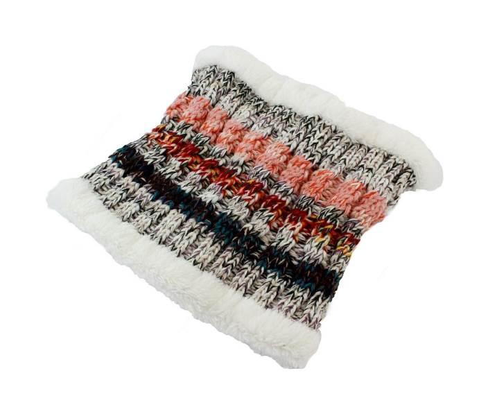 APT Dámska zimná čiapka s nákrčníkom šedá4