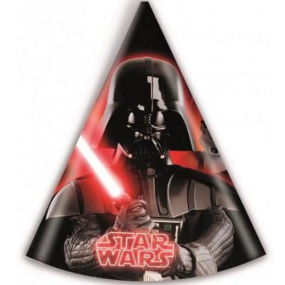 Javoli Papierová párty čiapočka Star Wars 6 ks