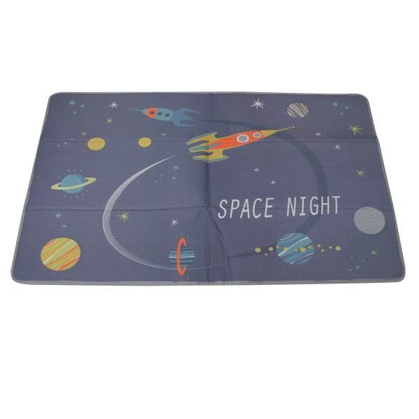KIK Pěnová podložka na hraní Space Night 180 x 120 cm 1