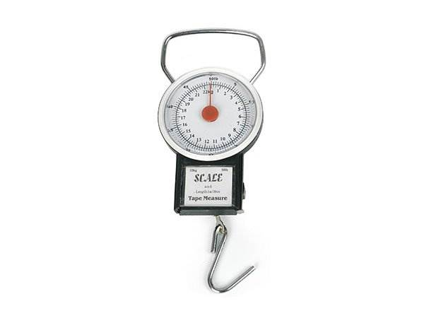 Verk Analógová závesná váha do 30 kg s metrom