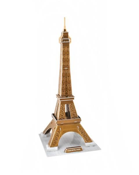 3D puzzle Eiffelova věž střední