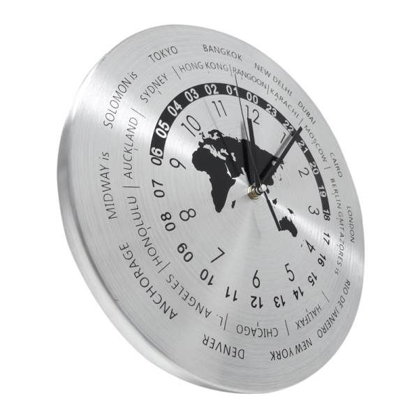 GT K70O Designové nástěnné hodiny Časová pásma 30 cm2