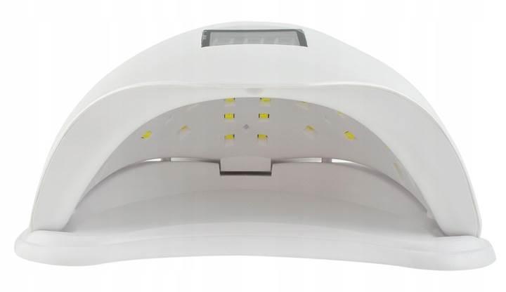 Beautylushh 6462 UV Lampa DUAL LED 48W bílá6