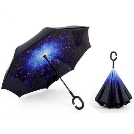 KIK KX7788_1 Obrácený deštník - vesmír