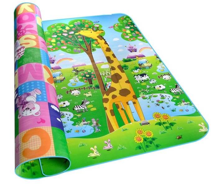 KIK Hrací termo podložka pro děti 180 x 200 cm - ZOO