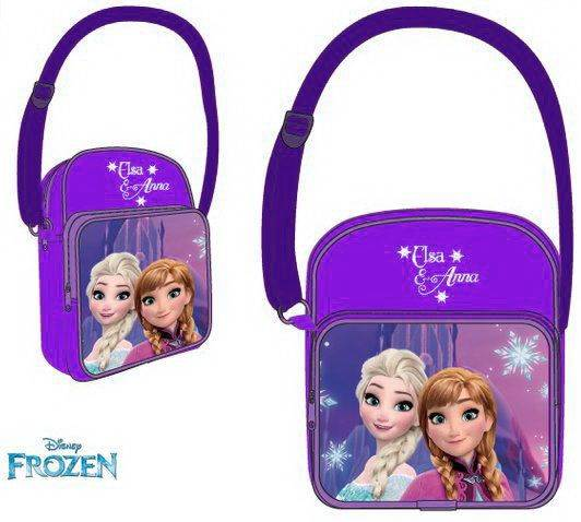 Javoli Taška cez rameno Frozen 18 x 16 x 9 cm fialová