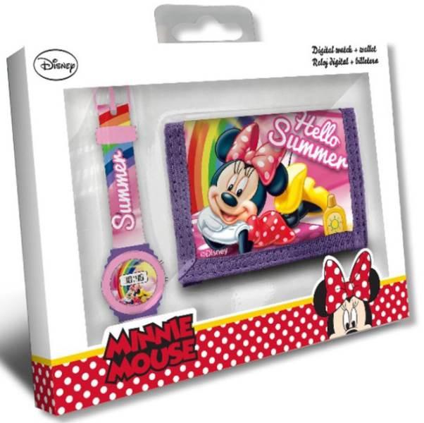 Javoli Darčeková sada Disney Minnie peňaženka s hodinkami II