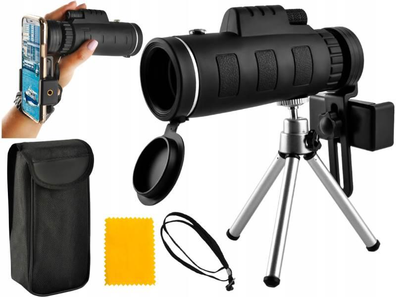 ISO 7883 Teleskop na telefón so statívom, ZOOM 50x
