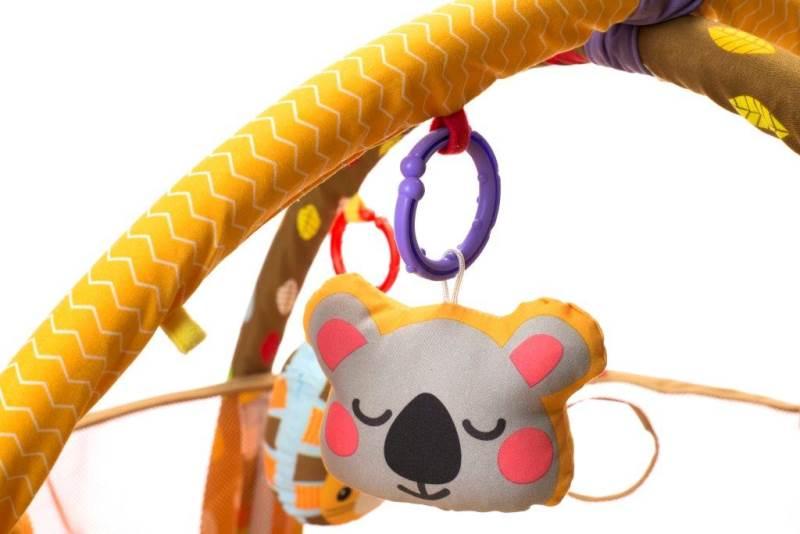 KIK Deka hrací lvíček s míčky 3