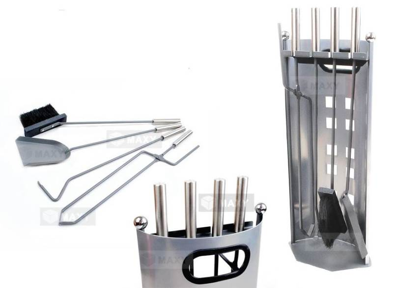 Kaminer 563 Krbové nářadí z ušlechtilé oceli – pět dílů
