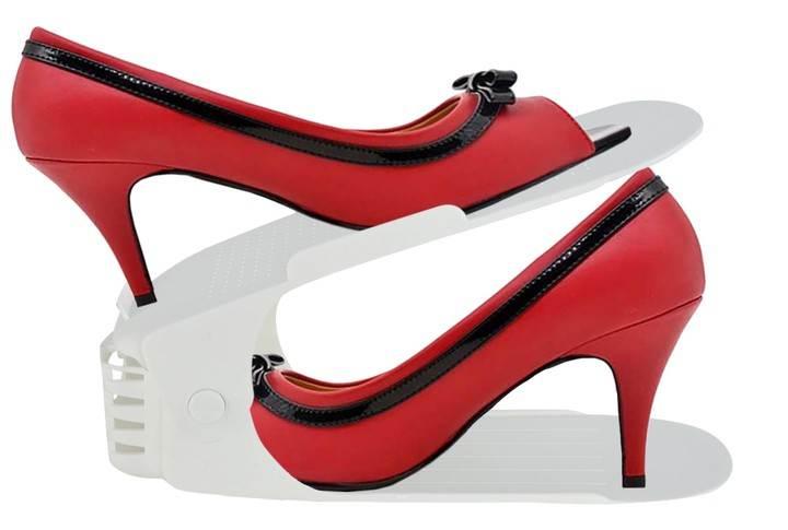 ISO 5611 Organizér na boty bílý