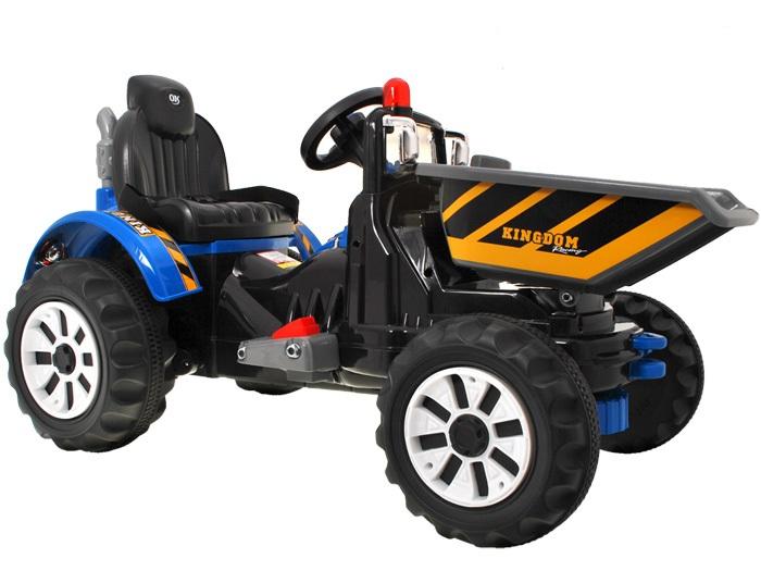 Joko Dětský elektrický traktor 2 x 45W 12V modrý