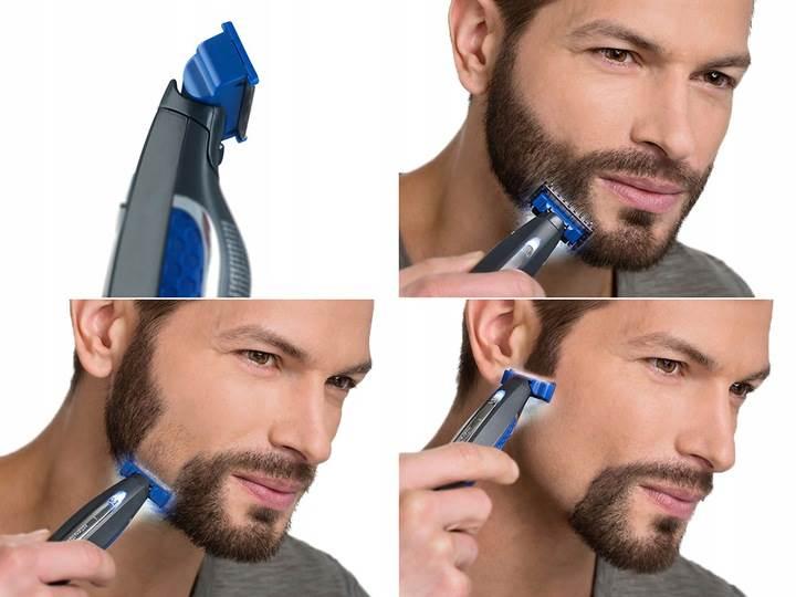 SOLO 15566 Elektrický zastřihovač vlasů a vousů černá4