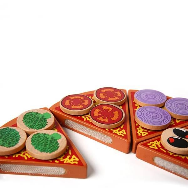 KIK KX7728 Dřevěná krájecí pizza PIZZA4