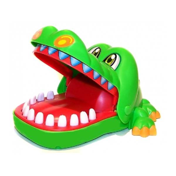 ISO Hra krokodýl u zubaře