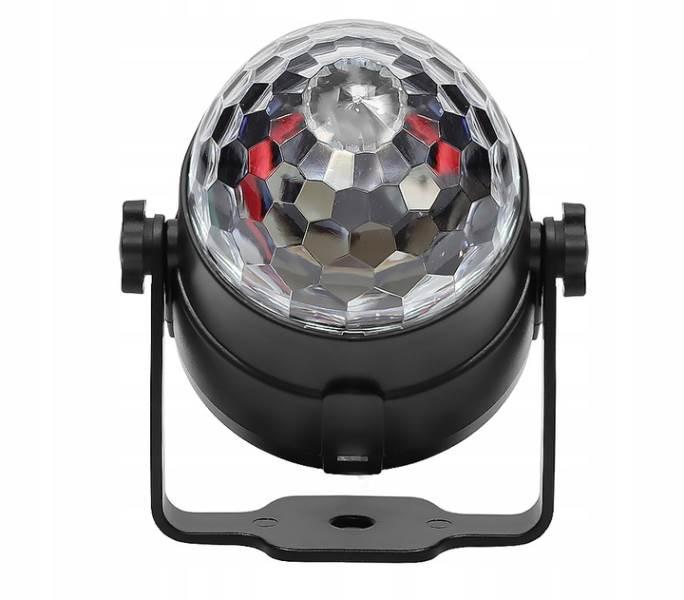 ISO 7056 LED disko gule s diaľkovým ovládaním7