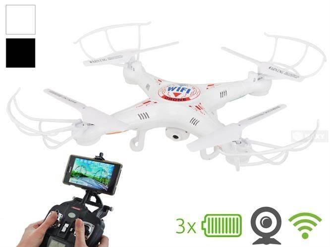Kvadroptéra Dron s HD kamerou + WiFi K300C White