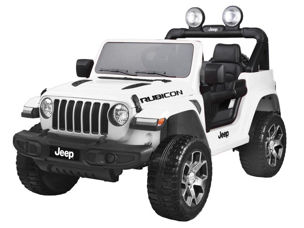 Joko PA0223 BI Elektrické autíčko Jeep Wrangler Rubicon 4x4 bílá