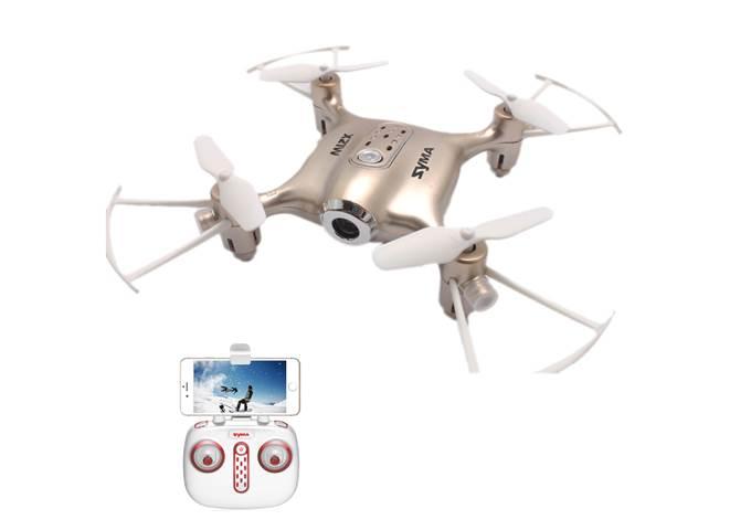 Syma X21W 2,4GHz - mini dron s barometrem a WIFI KX9795