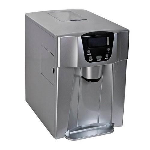 Malatec 9815 Výrobník ledu s dispenzerem vody 12Kg/24h šedý5