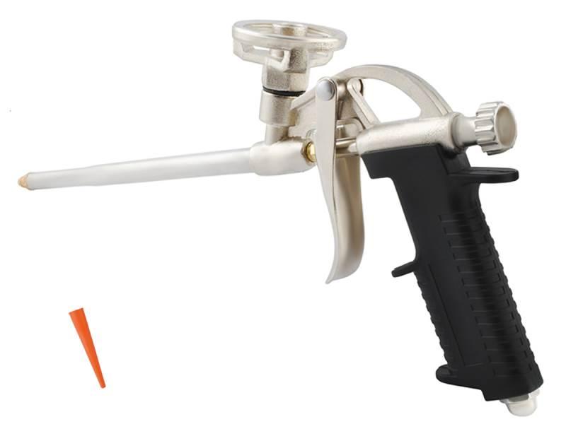 ISO 10 Pištoľ na montážnu penu kovová