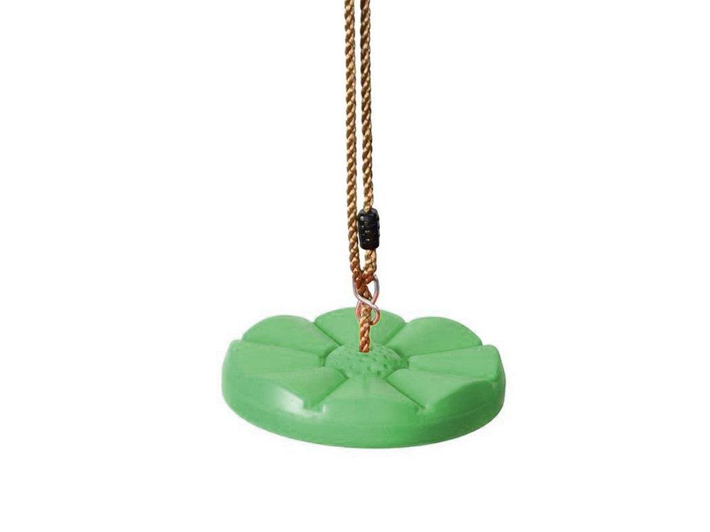 Verk 01534 Dětská houpačka disk průměr 27 cm zelená