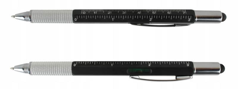 ISO 6337 Viacúčelové pero 6 v 1 čierna8
