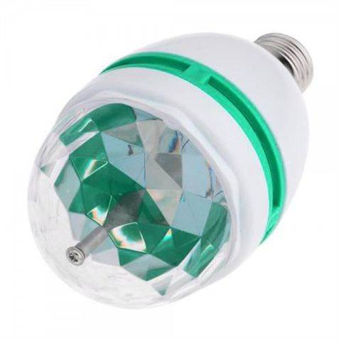 ISO-LK-HR Žiarovka RGB LED E27 3W