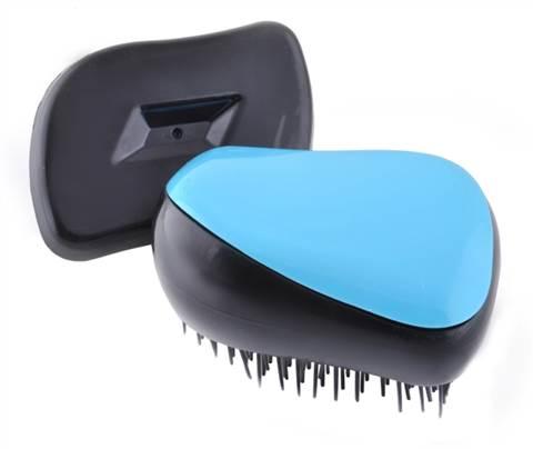 Kartáč na vlasy - modrý