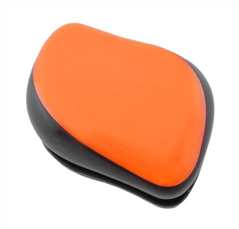 Kartáč na vlasy - oranžový