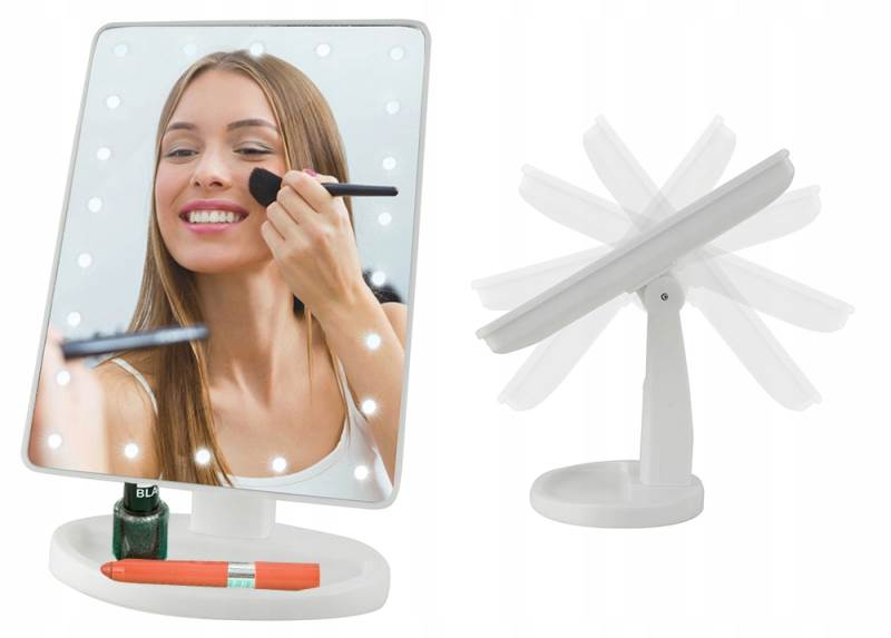 ISO 5886 Kosmetické zrcátko 16 LED1