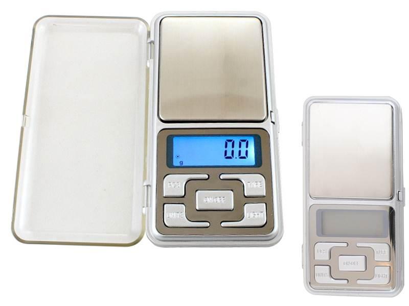 ISO 472 Digitálna vrecková váha 500g / 0,1 g