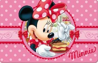 Javoli Prestieranie plastové Disney Minnie 3D 40 x 30 cm III