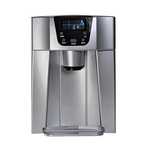 Malatec 9815 Výrobník ledu s dispenzerem vody 12Kg/24h šedý9