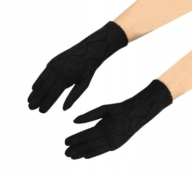 ISO 6413 Zimní rukavice na dotykové displeje 2v1 černé5